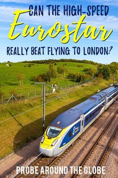 If you travel from the Netherlands to London, UK, you can fly or take the Eurostar to London. Read my surprising comparison if the Eurostar train to London from Rotterdam can beat flying European Destination, European Travel, European Vacation, Europe Travel Tips, Travel Destinations, Backpacking Europe, Travel Trip, Cheap Places To Travel, Train Travel