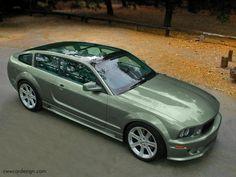 Ford Mustang Shooting Brake