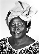 Wangari Maathai's success and achievements inspire me and give me hope for our world and the environment.