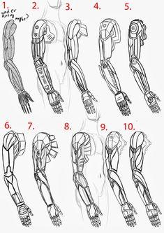 cyberpunk arm - Sök på Google