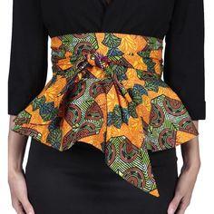 Fashion lady african printed batik belt female individuality ankara belt women beautiful wax printing batik waistband dashiki