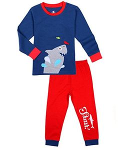 Size 6M-5Y Leveret Baby Boys Police Car Footed Sleeper Pajama 100/% Cotton