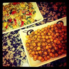 Hardallı nohut / Patlıcan salatası