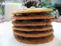 Tate's chocolate chip cookie recipe. These are the best!