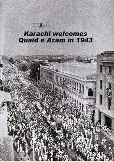 Karachi. 1943.