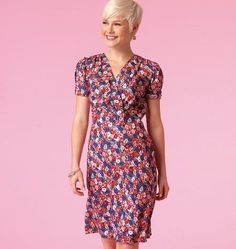McCall's M7116 Sewing pattern to make four sweet styles of dress. Just the thing for summer weather - Plus they're EASY to sew! … WeaverDee.com