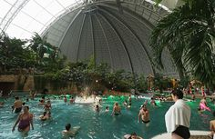 Tropical Islands resort is located inside a hangar on the site of a former Soviet military air base in Krausnick, Germany. Luxury Beach Resorts, Tropical Paradise, Sandy Beaches, Beach Trip, Trip Planning, Travel Photos, Places To See, Travel Inspiration, Germany
