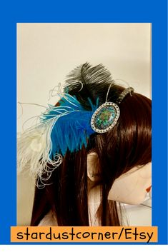 Wedding Hair Accessories, Straight Hairstyles, Wedding Hairstyles, Dreadlocks, Hair Styles, Handmade, Etsy, Beauty, Beleza