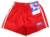Sydney Swans Mens Replica Playing Shorts $34.95