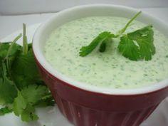 cilantro lime ranch... taco salad dressing!