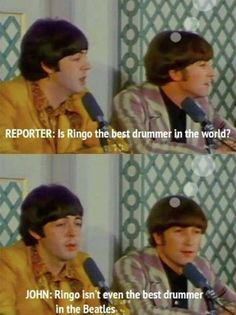 Poor Ringo Star  // funny pictures - funny photos - funny images - funny pics - funny quotes - #lol #humor #funnypictures