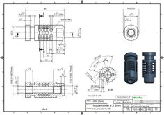 Mechanical Engineering Design, Mechanical Design, Youtube Drawing, Hard Surface Modeling, Autodesk Inventor, 3d Sketch, 3d Drawings, Drawing Practice, Technical Drawing