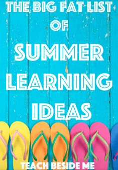 Ideas for science activities, nature exploring, reading and fun ways to play all summer!