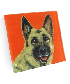 Another great find on #zulily! German Shepherd Coasters - Set of Four by NAKED DECOR #zulilyfinds