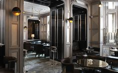 The bar at the Connaught Hotel in London