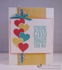 Stylin' Stampin' INKspiration: January 2014 Color Challenge