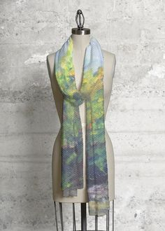 A beautiful and unique modal scarf that is perfect for your collection! Shop artistic modal scarf's created by designers all around the world. Vida Design, Textiles, Fashion Art, Fashion Design, Ladies Fashion, Unique Fashion, Womens Fashion, Luxury Beauty, Wearable Art