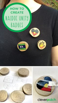 Celebrate NAIDOC Week with these fun unity badges! Paint your own design and share with your friends as we celebrate Aboriginal and Torres Strait Islander history, culture and achievements. Aboriginal Symbols, Aboriginal Education, Aboriginal Culture, Geography Activities, Craft Activities For Kids, Naidoc Week Activities, After School Care, Literacy Day, Alice Springs