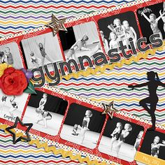 Recyclables 14  Gymnastics Bundleby mle Card Designs and Chelle's Creations