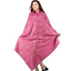 Kashmiri Zari #Embroidered Kashmiri Wool Shawl-113