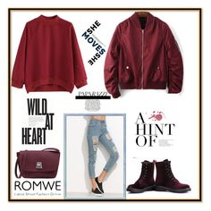 """Romwe10"" by merisa-imsirovic ❤ liked on Polyvore"