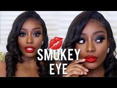 (9) SMOKEY EYE UNDER 5 MINUTES!! CHRISTMAS MAKEUP - YouTube Makeup Youtube, Christmas Makeup, Makeup Videos, Smokey Eye, Eyes, Smoky Eye, Human Eye