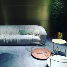 #LauraMeroni living collection for #SalonedelMobile2016