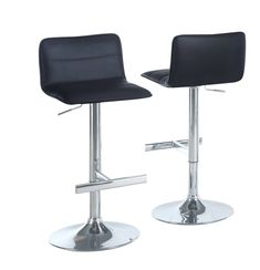 Buy the Monarch Specialties I 2366 Black Direct. Shop for the Monarch Specialties I 2366 Black Set of Two 19 Inch Wide Metal Framed Leatherette Adjustable Height Low Back Bar Stool and save. Bar Stools, Furniture, Bars For Home, Contemporary, Home Decor, Home Bar Furniture, Contemporary Furniture, Stool, Indoor Furniture