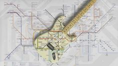 Fender and London Underground map out new Stratocaster guitar design
