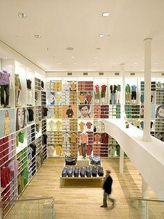 Flagship Uniqlo store, NYC. Architect:  Masamichi Katayama.