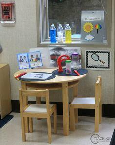 preschool classroom tour -science
