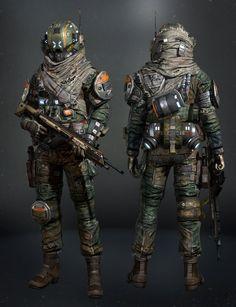 ArtStation - Titanfall - Militia, chang-gon shin