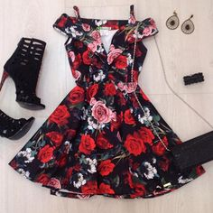 Vestido Casual Floral Summer