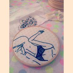 embroidery by Clube do Bordado #embroidery #bordado #clubedobordado #sp #brasil #softporn