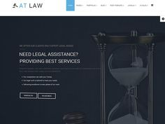 AT Law Joomla! template by Age Themes on @creativemarket