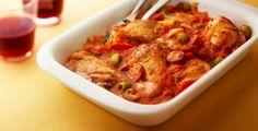 Recept van Baskische kip