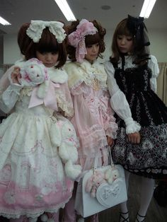 I'm so inspired by the Japanese lolita girls' style and how much effort they put into their outfits. Their doll-like resemblance is so cute, and I love incorporating tiny bits of their style into my own looks, such as lacy socks, a bow, or a frilly dress.