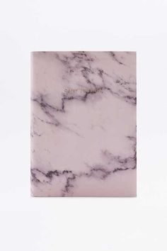 Ohh Deer Pink Marble Daily Journal