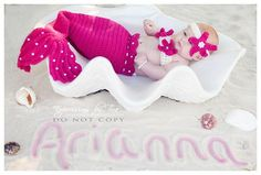 Crochet Pearls Mermaid Tail Prop Sets by CrochetbyBernadette, $50.00. i NEED to get this if I get a baby girl :P