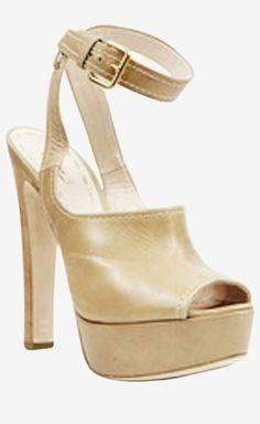 Miu Miu Beige Sandal   VAUNTE