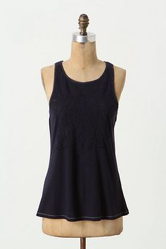 Sliced Shapes Tank #anthropologie I AM IN LOVE WITH THIS. but not its price.