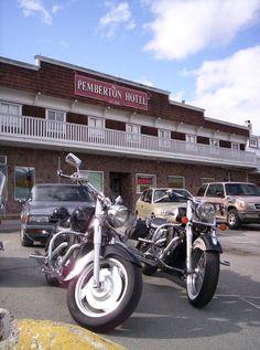"""The Pemho"" (Pemberton Hotel) Pemberton, BC Hwy 99"