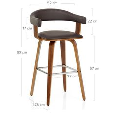 """Check out our internet site for even more details on """"bar furniture ideas houses"""". It is a superb area to get more information. Chaise Snack, Chaise Bar, Ontario, Kitchen Worktop, Kitchen Stools, Wooden Kitchen, Eames Chairs, Bar Chairs, Poltrona Design"""