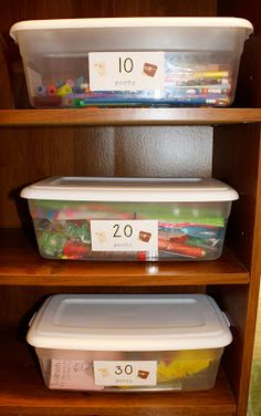 earn stickers for positive behavior. They trade in stickers for prizes, save stickers for better prizes. Teaches responsibility too since they keep up with their notepad Classroom Reward System, Reward System For Kids, Behavior System, Reward Chart Kids, Behavior Rewards, Kids Rewards, Classroom Rewards, Kids Behavior, Classroom Management