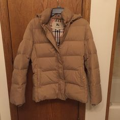 Authentic Burberry Coat authentic! in perfect condition! no stains or other imperfections. would only trade for Celine or Givenchy. Burberry Jackets & Coats Puffers