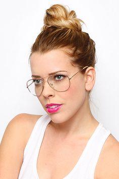 b47998afdff All. Cute GlassesGirls With GlassesGlasses SunGlasses StyleClear Aviator ...