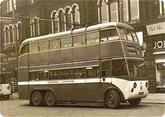 The 1940 Karrier MS6, Huddersfield trolley buses