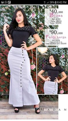 Faldas elegante