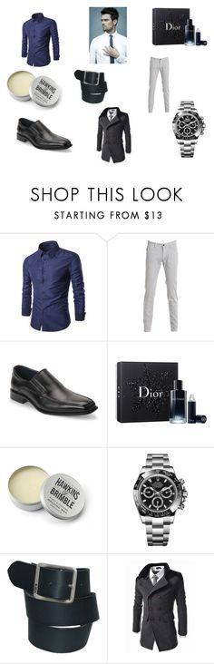 """Daniel Burke - Uptown Funk"" by pepper2good4u on Polyvore featuring Joseph Abboud, Christian Dior, Hawkins & Brimble, Rolex, Nidecker, men's fashion and menswear"