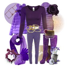 """""""Purple Rain.."""" by ladylikexo ❤ liked on Polyvore featuring Christian Louboutin, Forever 21, Dorothy Perkins, Kendra Scott, women's clothing, women, female, woman, misses and juniors"""